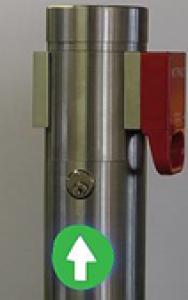 Anwendung Ampel Rundsäule 70 mm