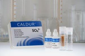 Testset Sulfat mit Scharnierdeckelkasten