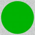 Grüne vollflächige Signalfarbe