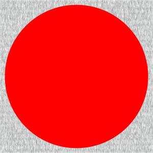 Rote vollflächige Signalfarbe