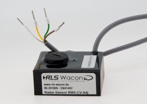 Radar sensor RMS CV Adjust