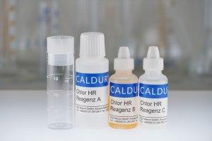Testset Chlor HR (frei+gebunden) photometrisch